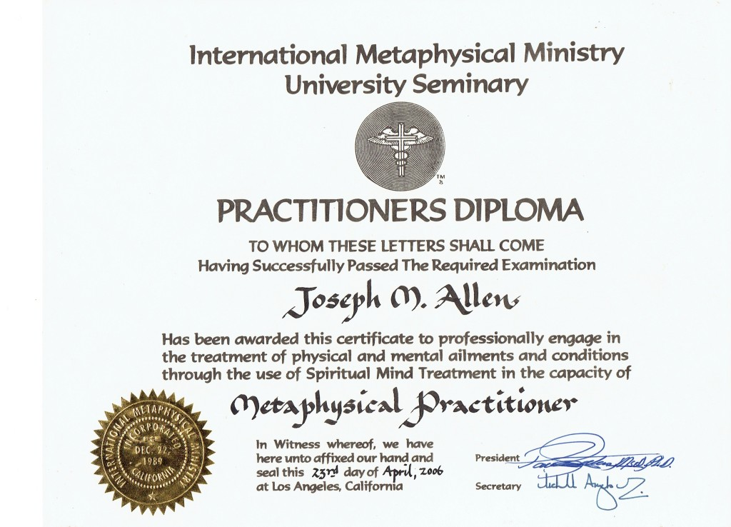 IMM Practitioner Certificate